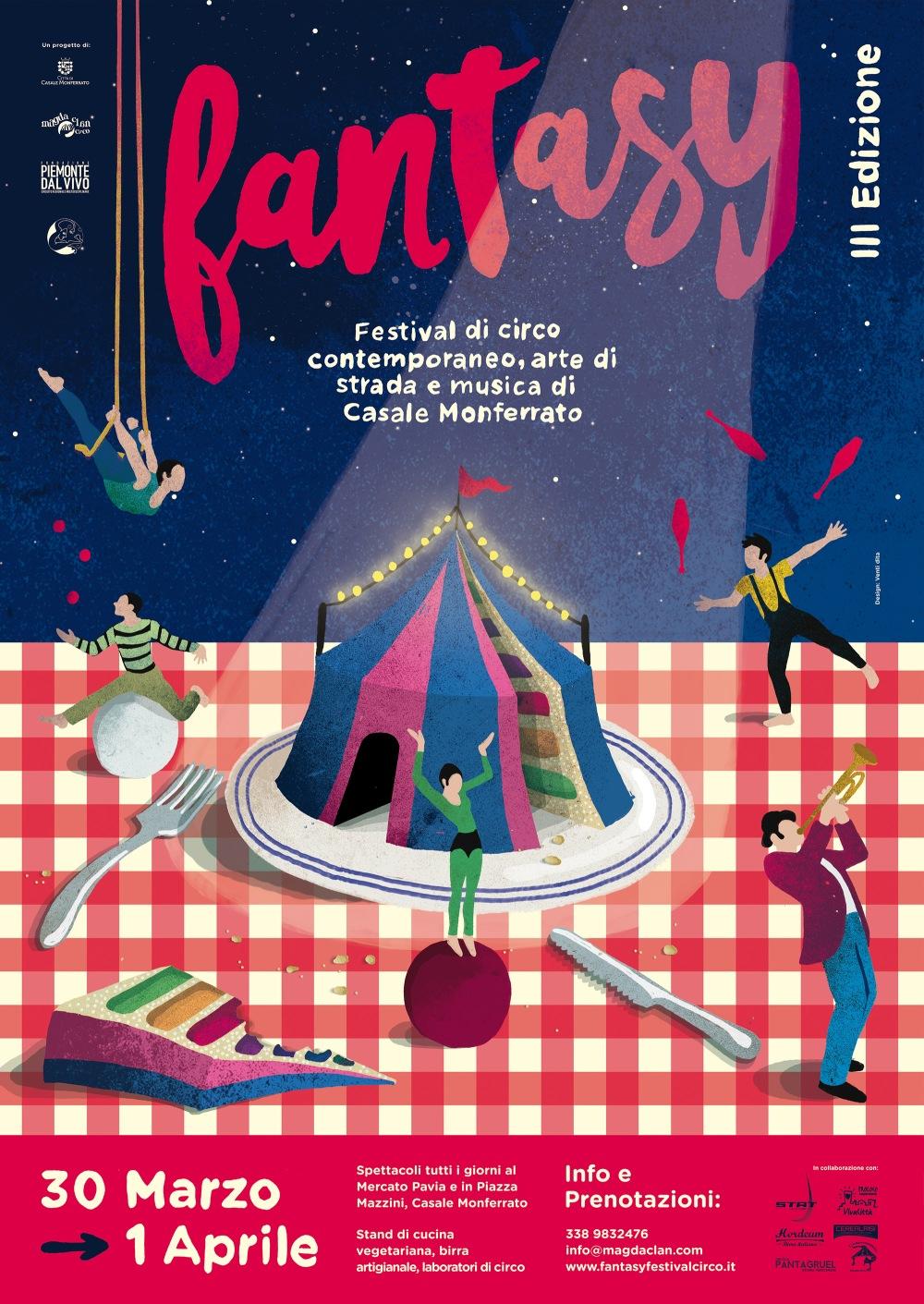 locandina FANTASY 2018 circo
